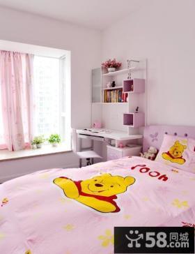 儿童房卧室飘窗设计效果图
