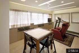 现代复式室内娱乐休闲房间装修效果图片