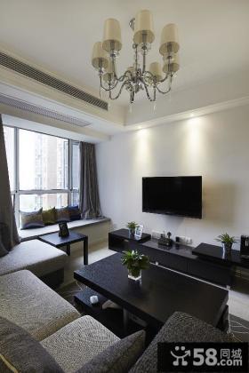 优质简约风格客厅装修设计图大全