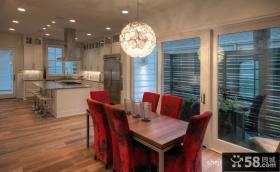 复式楼客厅装修效果图现代