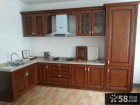 美式厨房整体橱柜效果图欣赏