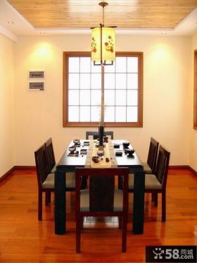 中式风格名古屋别墅餐厅样板设计