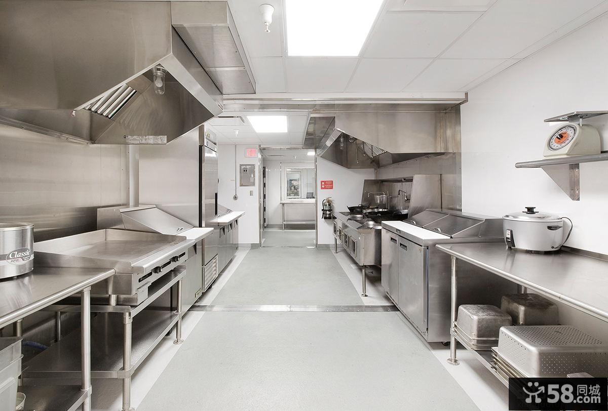 酒店厨房装修设计效果图