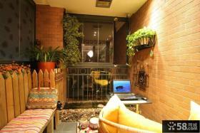 现代家居生活阳台装修