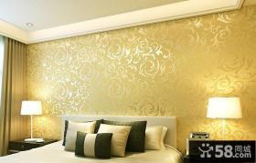 时尚家装卧室壁纸效果图