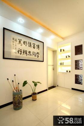 中式玄关装饰设计