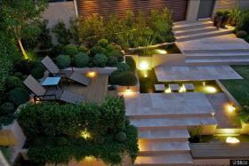 别墅庭院景观设计效果图欣赏