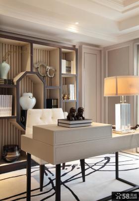 新古典风格别墅书房装饰设计图片