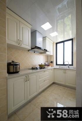 明亮简欧风格厨房效果图