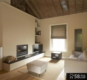 农村小复式客厅装修效果图