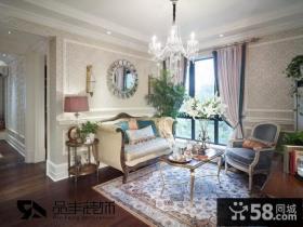 优质欧式小客厅吊顶装修效果图欣赏