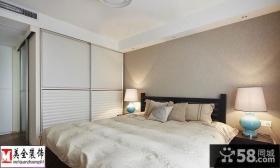 简约主卧室衣柜装修效果图大全2013图片