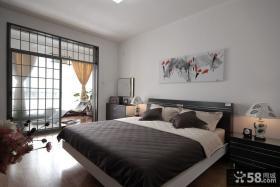 卧室带阳台装修效果图大全2013图片