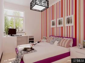 卧室壁纸装修效果图大全2013图片