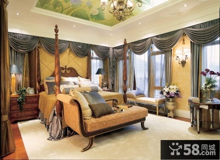卧室天花板装修效果图