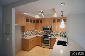 复式楼装修图片 现代厨房装修效果图大全2012图片