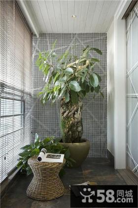 绿色休闲家装阳台