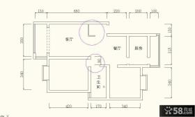 简单家庭室内设计平面图