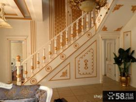 欧式别墅楼梯装修设计