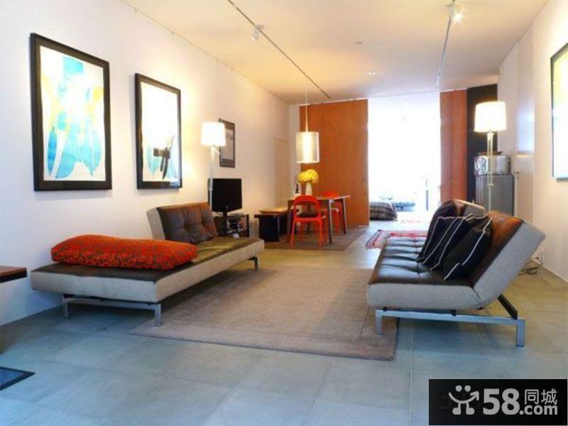一居室小户型装修效果图大全2015图片