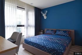 简约风格卧室颜色搭配效果图欣赏