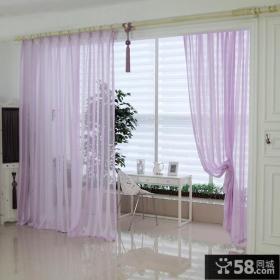 阳台窗帘装饰效果图片
