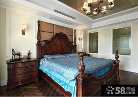 美式乡村风格卧室装修图片欣赏
