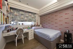 新古典卧室背景墙