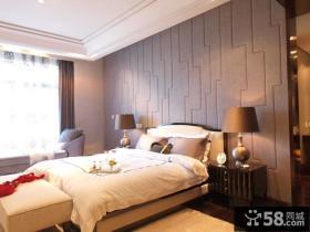 后现代风格卧室床头小台灯实景图