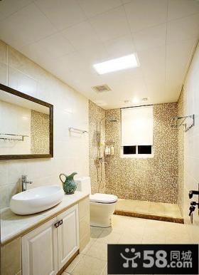 美式三居室内家居设计装饰效果图片
