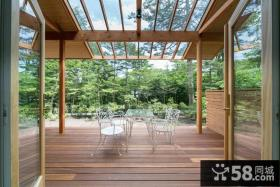 日式家装天窗阳台装修效果图
