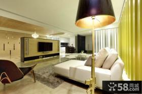 2015优质现代简约风格四居室装修设计图