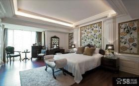 欧式风格卧室设计装修效果图
