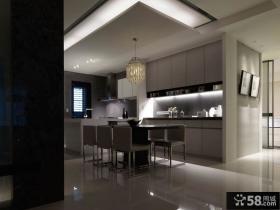 现代家装设计室内餐厅吊顶效果图