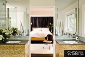 2013复式楼家庭装修卧室效果图