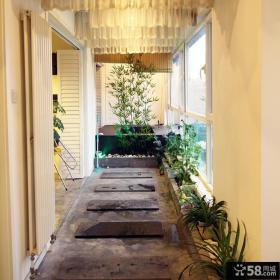 文青北欧家居阳台装修案例