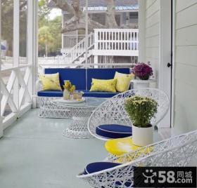 2013优质现代小阳台设计效果图欣赏