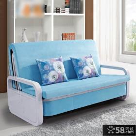 温馨家居折叠沙发床图片