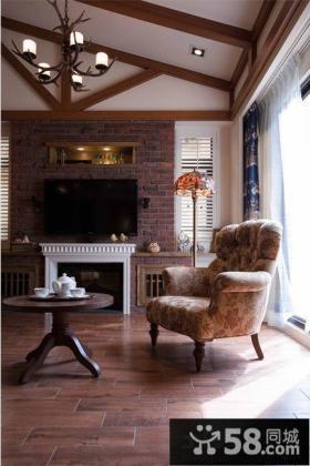 美式乡村风格私家别墅装修效果图大全