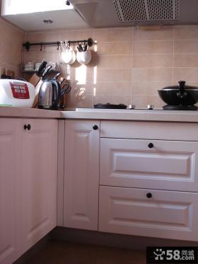家庭厨房橱柜门效果图片