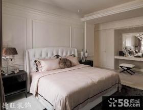 新古典主卧室装修效果图欣赏