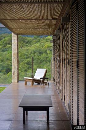 家装开放式阳台图片欣赏