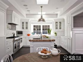 欧美风格家装厨房装修效果图片