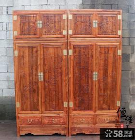 古典中式衣柜图片欣赏
