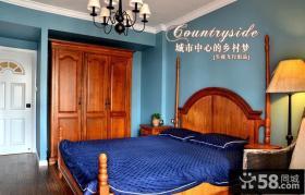美式乡村风格卧室装修效果图片