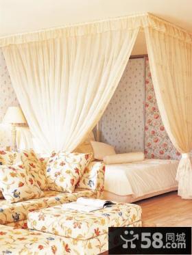 田园家居卧室设计图片