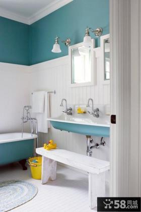 时尚浴室装修图