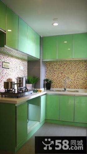 小户型开放式厨房效果图欣赏