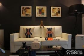 时尚客厅装饰画效果图大全