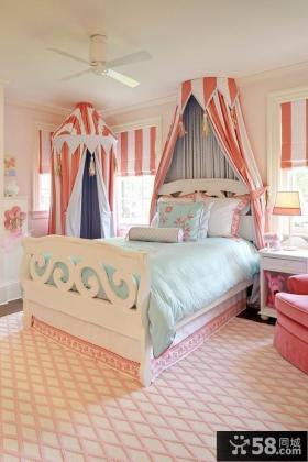 欧式女生主卧室装修效果图